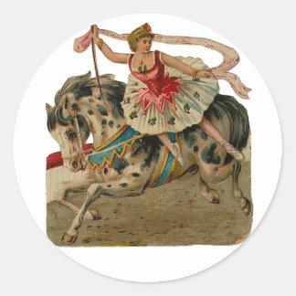 Appaloosa Horse Circus Ballerina Stickers