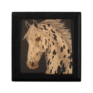 Appaloosa horse gift box