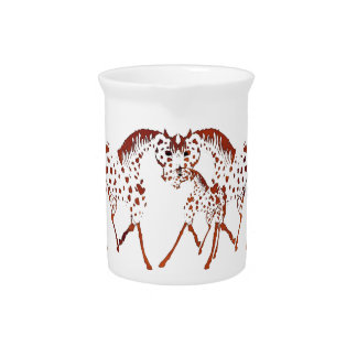 Appaloosa horse lover gifts and apparel pitcher