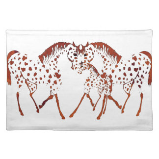 Appaloosa horse lover gifts and apparel placemat