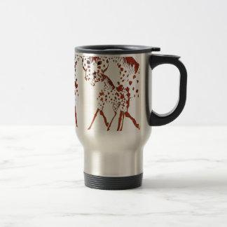 Appaloosa horse lover gifts and apparel travel mug