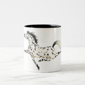 Appaloosa Horse Mug. Two-Tone Coffee Mug