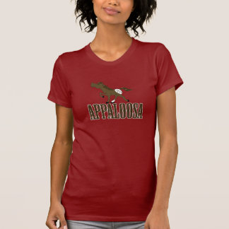 APPALOOSA Horse Western Equine Brown & White T-Shirt