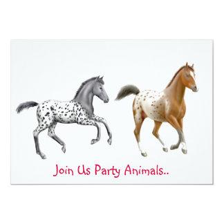 Appaloosa Horses Party Invitation