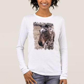 Appaloosa Stallions Long Sleeve Ladies T-Shirt
