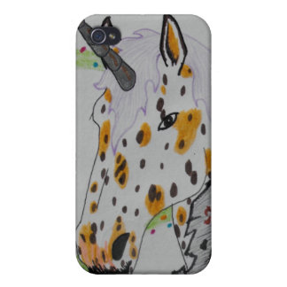 Appaloosa Unicorn Gift Products iPhone 4/4S Cases