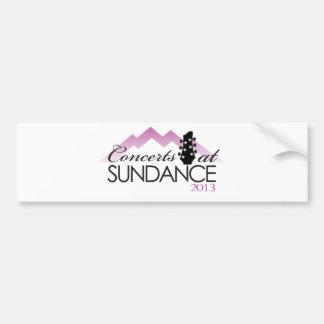 Apparel, coffee mugs, concerts at sundance bumper sticker