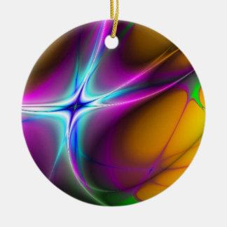 Apparition Fractal Christmas Tree Ornament