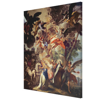 Apparition of St. Joseph to St. Theresa Gallery Wrapped Canvas