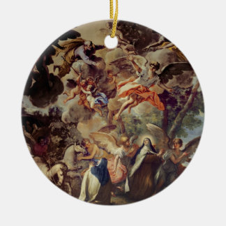 Apparition of St. Joseph to St. Theresa Christmas Tree Ornament