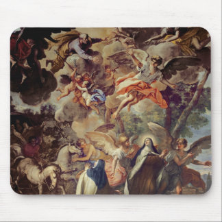 Apparition of St. Joseph to St. Theresa Mousepads