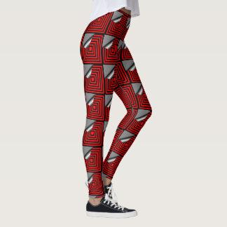 Appealing in Red Leggings