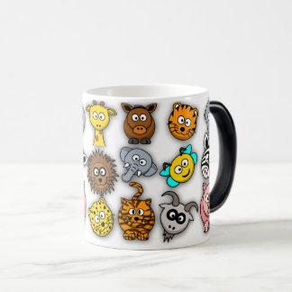 Appearing Zoo Animal Mug