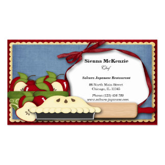 Appel Pie Double-Sided Standard Business Cards (Pack Of 100)