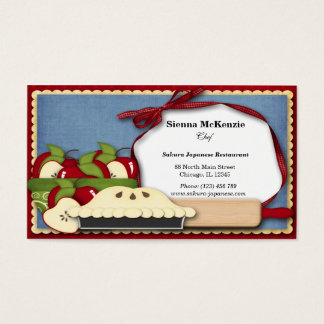 Appel Pie Business Card