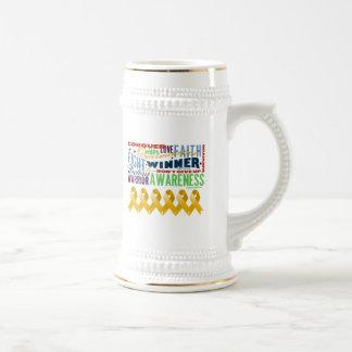 Appendix Cancer Inspirational Words Coffee Mug
