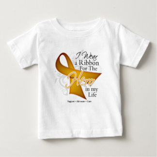 Appendix Cancer Ribbon Hero in My Life Tee Shirt