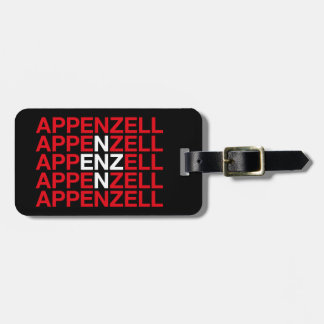 APPENZELL LUGGAGE TAG