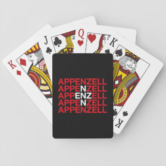 APPENZELL PLAYING CARDS