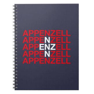 APPENZELL SPIRAL NOTEBOOK