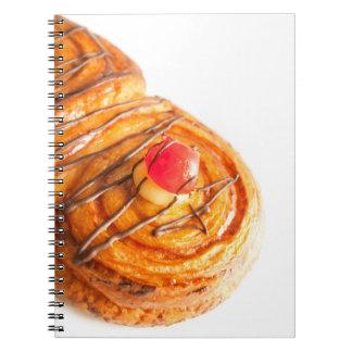 appetize bun spiral notebook