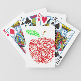 apple2 bicycle playing cards