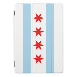 """Apple 10.5"""" iPad Pro with flag of Chicago, USA. iPad Pro Cover"""