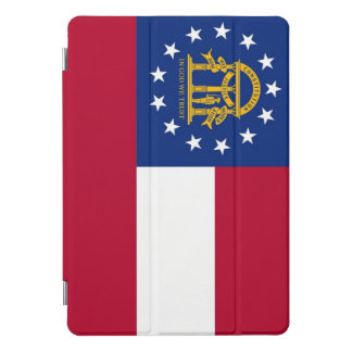 """Apple 10.5"""" iPad Pro with flag of Georgia, USA. iPad Pro Cover"""