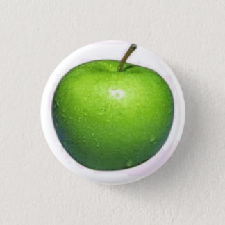 Apple 3 Cm Round Badge