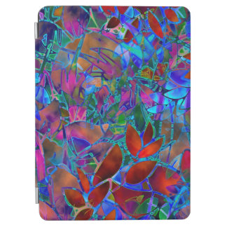 """Apple 9.7"""" iPad Pro Cover Floral Stained Glass"""