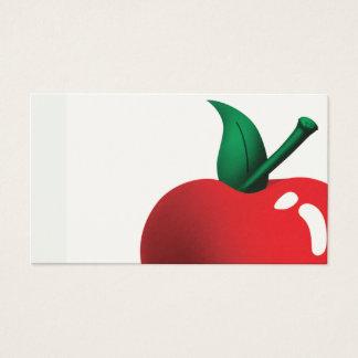 422 Teacher Apple Business Cards and Teacher Apple