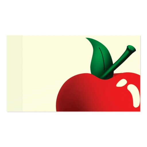 apple a day business cards