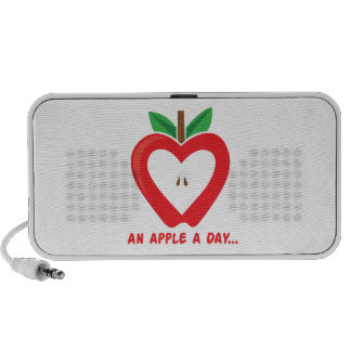 Apple A Day iPhone Speaker