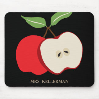 Apple Add Name Mouse Pad