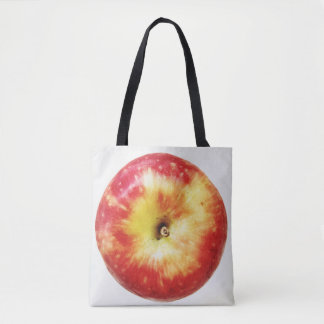 Apple All-Over-Print Tote Bag