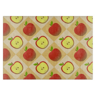 Apple and a Half pattern Cutting Board