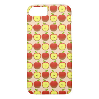 Apple and a Half pattern iPhone 8/7 Case