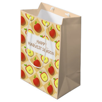 Apple and a Half pattern Medium Gift Bag