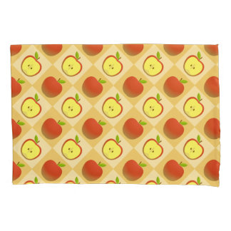 Apple and a Half pattern Pillowcase