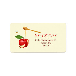 Apple and Honey Address Label - Personalized