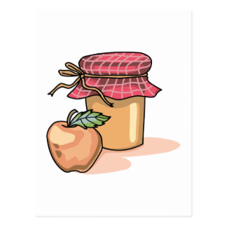 APPLE AND JAM POST CARD