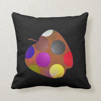 Apple and pear cushion