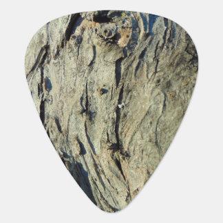 Apple Bark Texture Guitar Pick
