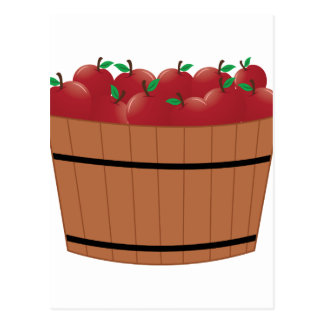 Apple Barrel Postcard