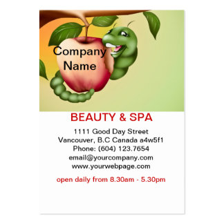 Apple  Beauty Spa Salon Business Card