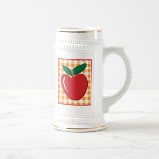 Apple Beer Stein
