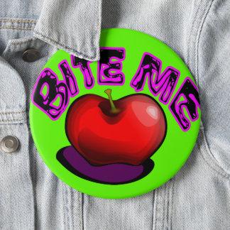 Apple BITE ME Nostalgic Retro 90s Pin