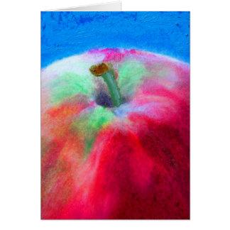 Apple Blank Card