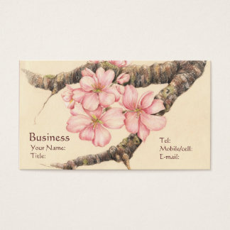Apple Blossom Branch Business Card