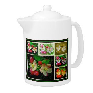 Apple Blossom Collage - Enhanced Digital Photo